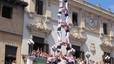 Los Minyons de Terrassa descargan el 3 de 9 'amb folre' en Sants seis días antes de Sant Fèlix