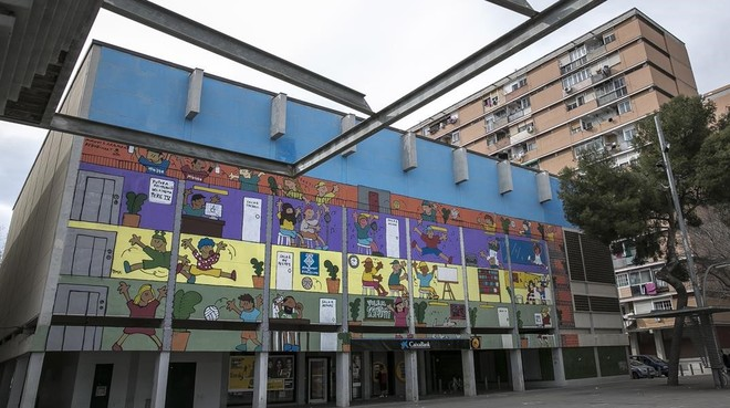 El antiguo cine Pere IV.