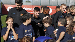 El Barça y la Fundació se unen a la campaña global de UNICEF