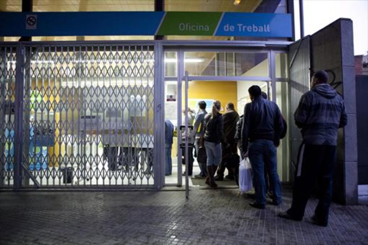 El paro de la eurozona se mantuvo en marzo en m nimos en - Oficina empleo barcelona ...