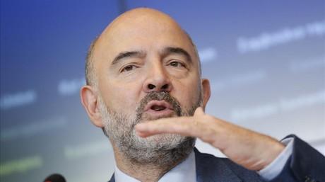 El comisario europeo de Asuntos Econ�micos, Pierre Moscovici.