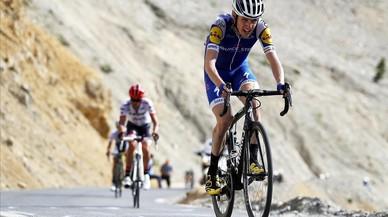 Dan Martin corrió más de medio Tour con dos vertebras fracturadas