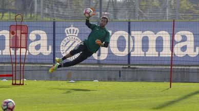 """Diego López: """"Sóc molt feliç a l'Espanyol, a Barcelona s'hi viu bé i hi ha molt madridista"""""""