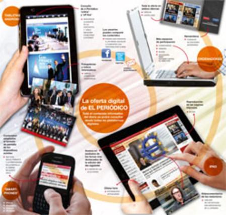 EL PERIÓDICO toca el futur amb l'edició digital