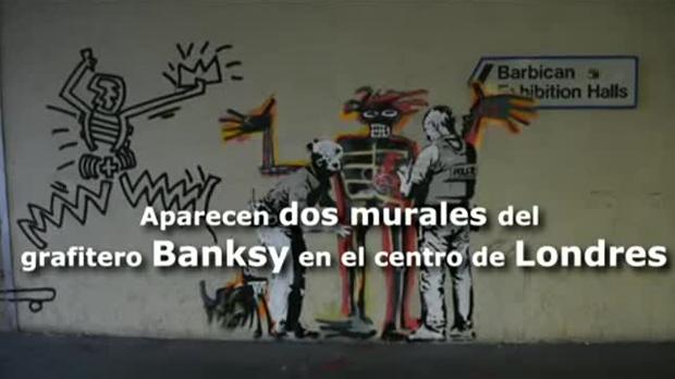 Banksy aparece en Londres con dos nuevos murales dedicados a Basquiat