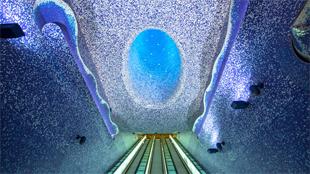 La estación de metro más bonita