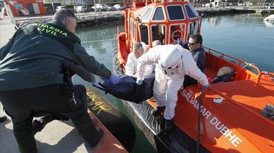 Sis immigrants morts i diversos de desapareguts en aigües de l'Estret