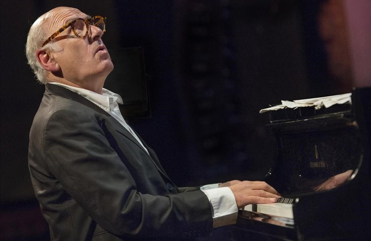 Festival Internacional de Jazz de Barcelona. Actuació del pianista i compositor MICHAEL NYMAN al Palau de la Música.