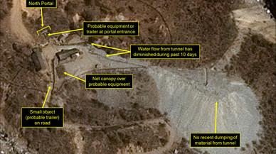 Corea del Nord ultima els preparatius per a un altre assaig nuclear