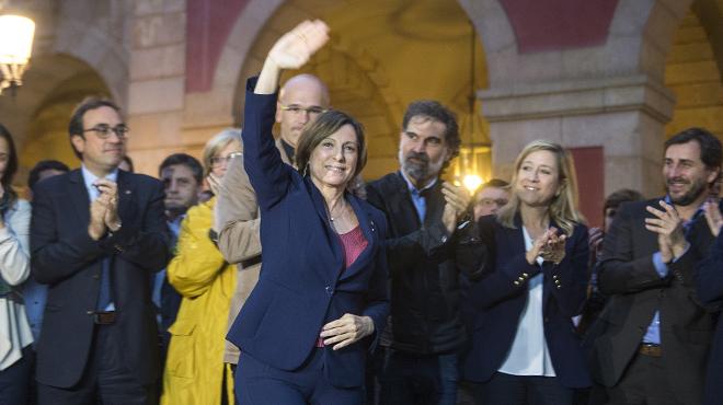 """Forcadell al·lega davant el TSJC que """"cap llei pot prohibir el debat parlamentari"""""""