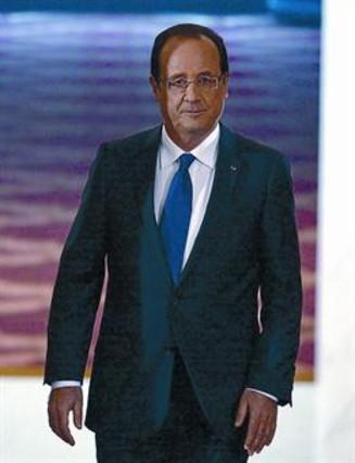 Hollande se lanza a la �reconquista� de la popularidad