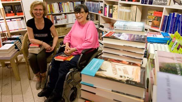 Bernat, con Montse Serrano es un ejemplo de reinvenci�n y adaptaci�n, tras conevertir a sus lectores en socios.