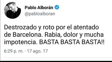 Los famosos se vuelcan con Barcelona