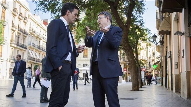 Sánchez i Puig exhibeixen unitat davant la cita electoral del 26-J
