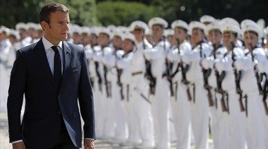 La maquilladora de Macron ha costat a l'Elisi 26.000 euros en tres mesos