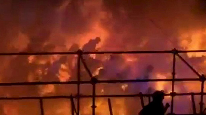 500 ferits per un incendi en una festa a Taiwan