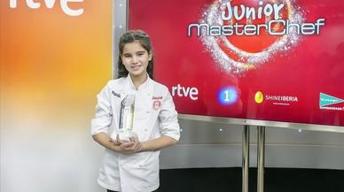 Paula, la niña de Mataró de 10 años que se ha alzado con la victoria en 'Masterchef junior 4'.