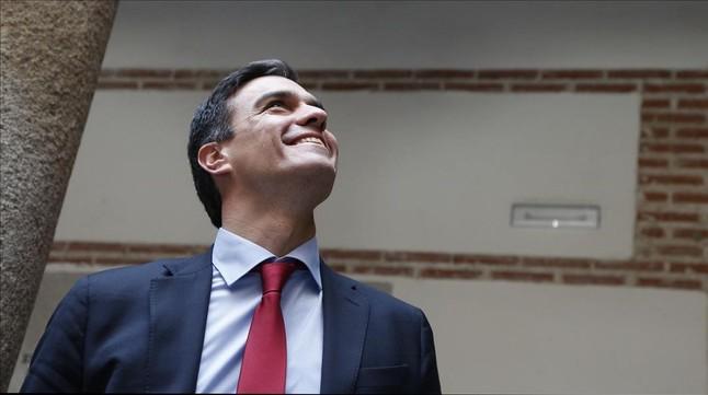"""S�nchez pide a Iglesias que """"abandone su ambici�n partidista"""""""