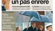 """""""Oriol Pujol farà un pas enrere"""", a la portada d'EL PERIÓDICO"""