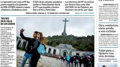 El PSOE tindria més vots amb Sánchez, segons un sondeig d''El Mundo'
