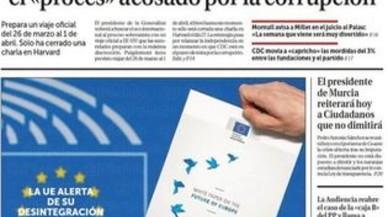 Del fracàs de la UE, del tripijoc del TC, de tres arquitectes i de Puigdemont, que se'n va als EUA