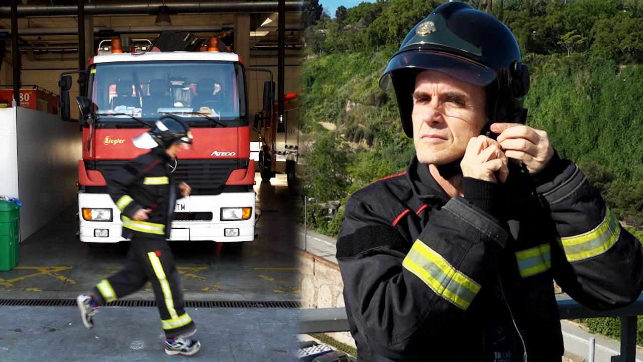 """Un redactor de El Periódico disputará la """"Cursa dels Bombers"""" con el uniforme de los bomberos de BCN"""