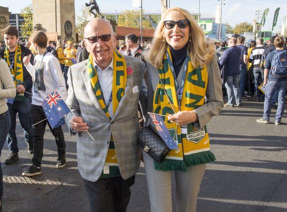 Rupert Murdoch se casar� con Jerry Hall