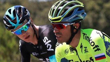 El Tinkoff deixa tirat Contador en la primera muntanya del Tour