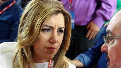"Susana Díaz, sobre Pedro Sánchez: ""Me parecerá bien todo"""