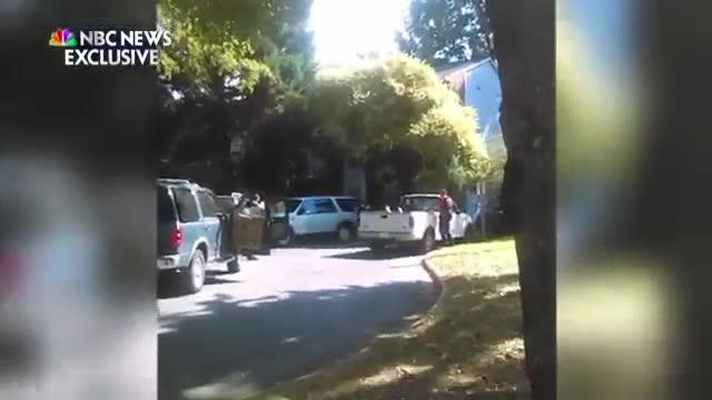 La dona del negre abatut a Charlotte va suplicar a la policia que no li disparés