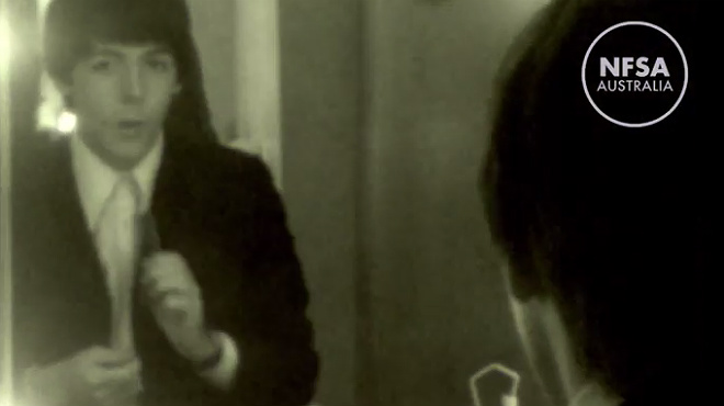 Surt a la llum un vídeo inèdit dels Beatles
