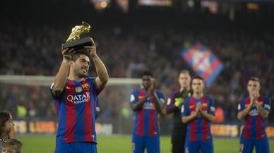 Luis Suárez firma fins al 2021