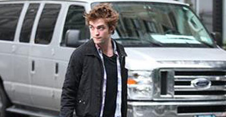 El actor Robert Pattinson.