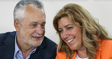 José Antonio Griñan y Susana Díaz.