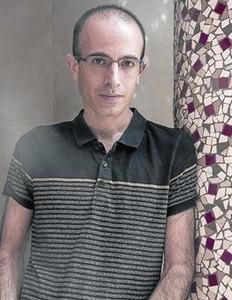 El historiador israel� Yuval Noah Harari, el pasado jueves en Barcelona.
