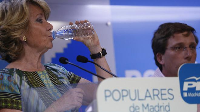 La popular busca una mayor�a para evitar que Manuela Carmena acceda al bast�n de alcaldesa.