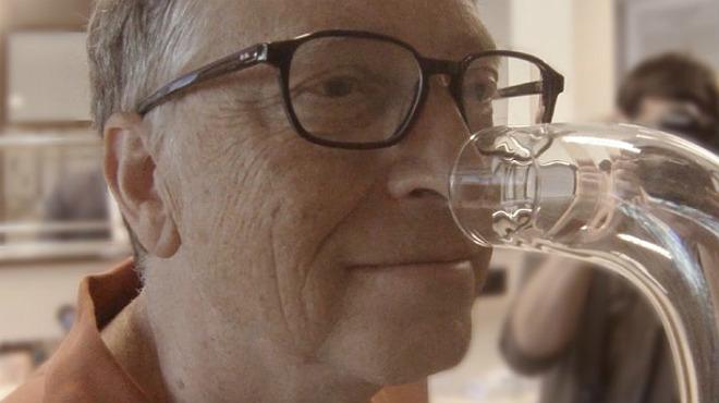 Bill Gates impulsa un ambientador per a lavabos
