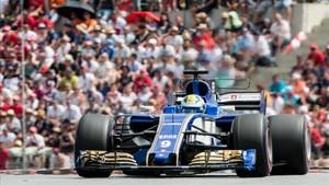 Ericsson, al volante del Sauber