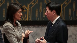 zentauroepp41130205 new york ny november 29 l to r nikki haley u s ambas171130100328