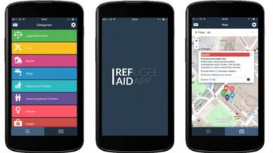 RefAid, una app de ayuda a personas refugiadas y migrantes