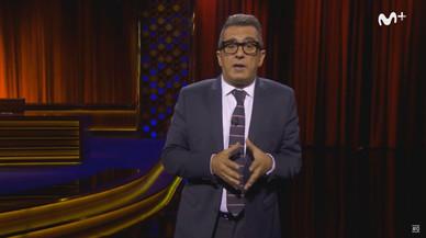 Andreu Buenafuente, durante su mon�logo del programa en #0 'Late motiv', el pasado jueves.