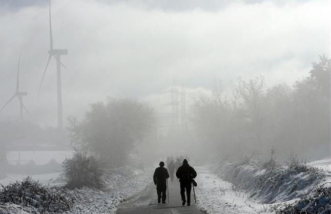 Dos excursionistes moren després de perdre's a Castelló en ple temporal