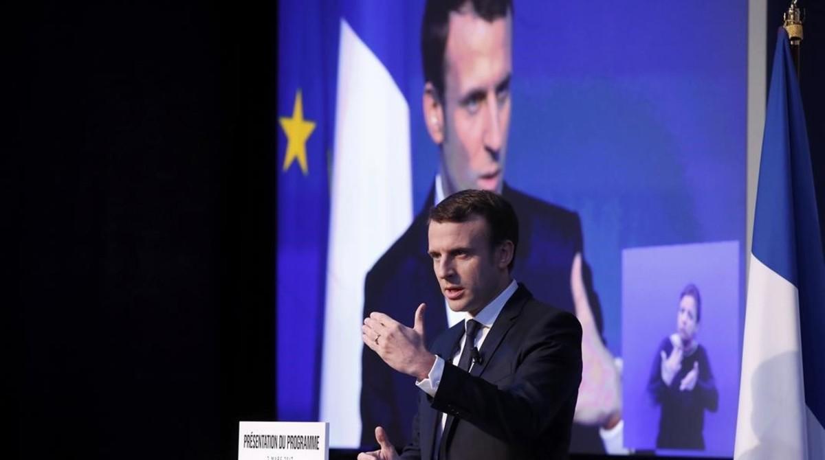 Macron presenta su programa de gobierno en el que promete leyes de regeneración democrática