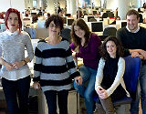 El equipo de 'community managers' de Air Europa.