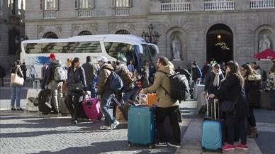 Un pla per ordenar el turisme a BCN
