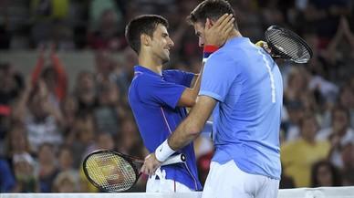 Del Potro es carrega el número 1 Djokovic en la primera ronda