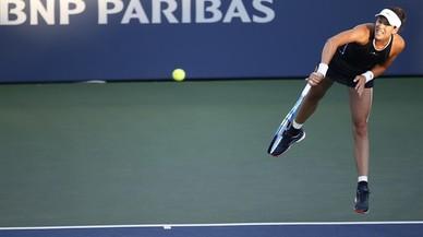 Muguruza perd amb Keys en semifinals de Stanford