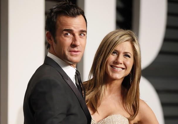 Jennifer Aniston i Justin Theroux es casen a la seva mansió de Los Angeles