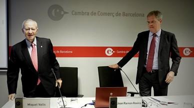 Catalunya creixerà el 2,8% aquest any, una dècima més, segons la Cambra