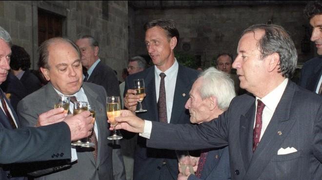 La trinitat Pujol, Núñez i Cruyff